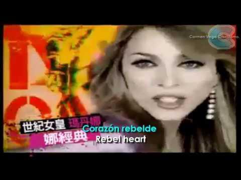 MADONNA - REBEL HEART - AVICCI Demo  subtitulado