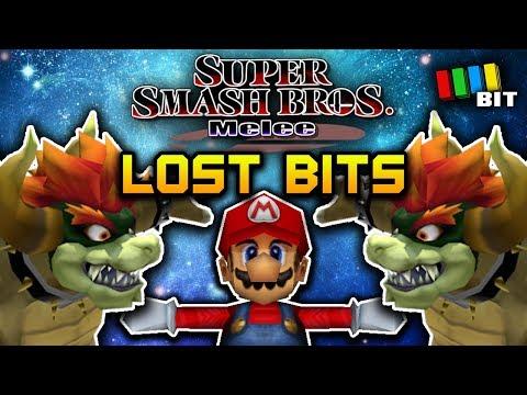 Super Smash Bros Melee LOST BITS  Unused Content & Debug Mode TetraBitGaming