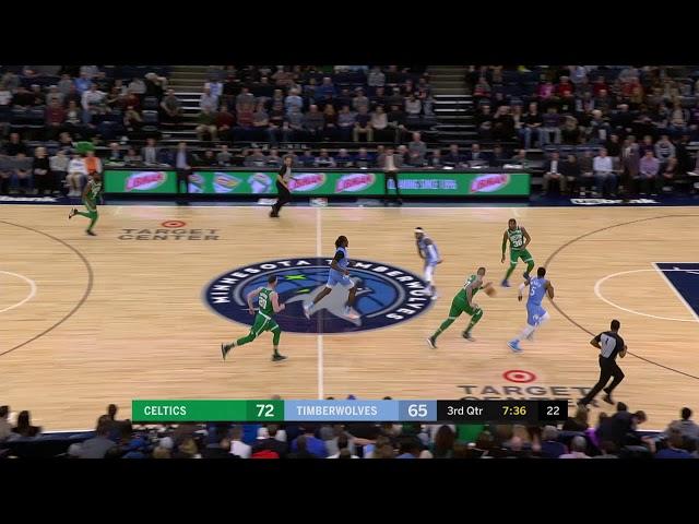 Minnesota Timberwolves vs Boston Celtics | February 21, 2020