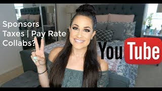 How To Make A Living on Youtube: Sponsors, Affiliate Marketing, Taxes, Collabs | Boss Babe Ep #5