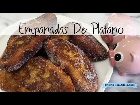 Empanadas de platano ( Empanadas con poleada de arroz )