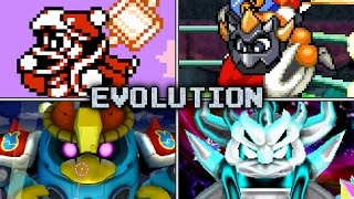Evolution of King Dedede Battles in Kirby games (1992 - 2017)