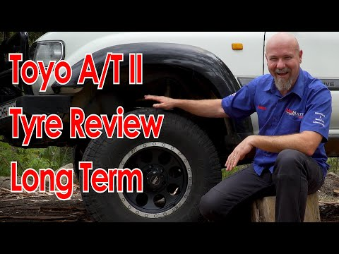 Toyo Open Country AT2 LONG TERM Tyre/tire REVIEW
