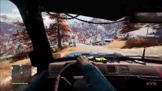 Far Cry 4 - Vehicle - Scavenger Car Free Roam Gameplay (PC HD) [1080p]
