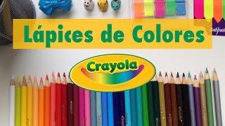 Lápices de colores Crayola -😍 review 😍 - StephanieVlog