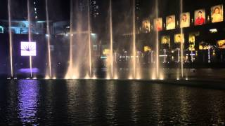 Adele someone like you Dubai Burj khalifa fountains