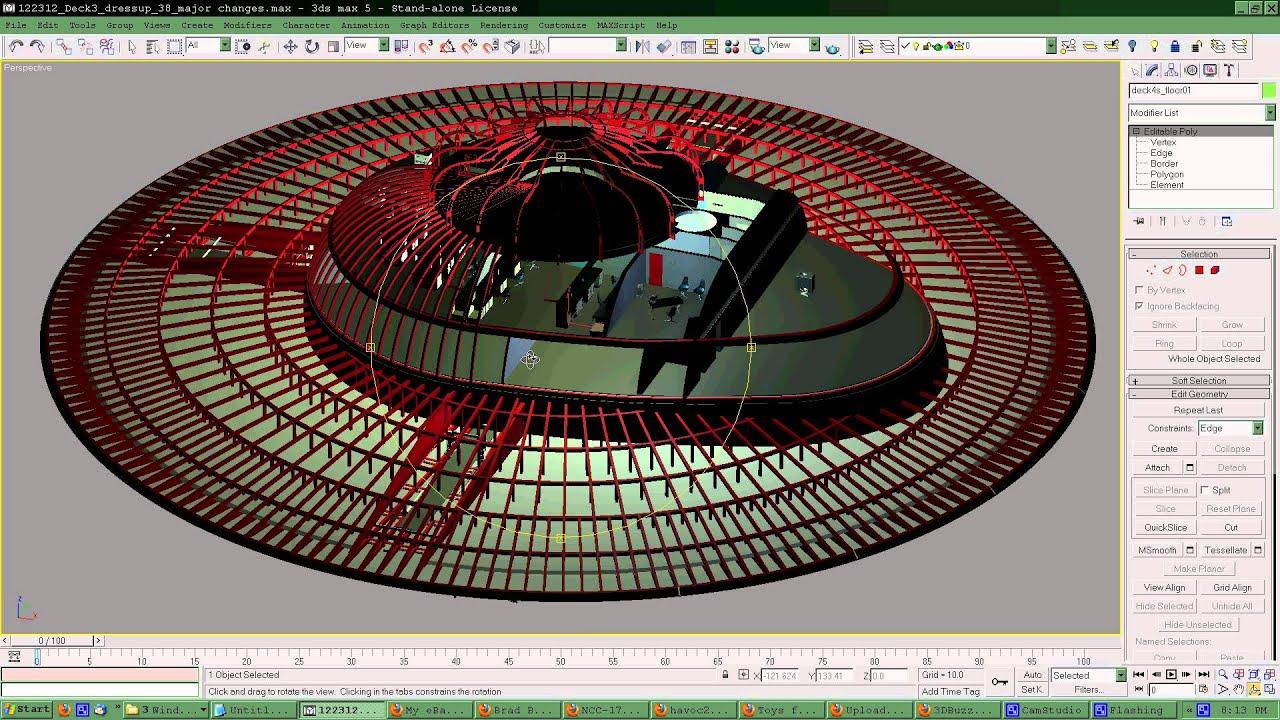 Uss Enterprise Diagram Wiring For Bathroom Fan And Light 1701 Deck By Feb 2013 Update Youtube