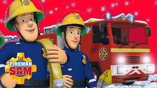Dashing through the Snow! ❄️🎄 Fireman Sam US | Holiday Fun with Sam | Cartoons for Kids