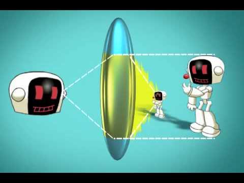 Refracción de la luz en el ojo humano - YouTube
