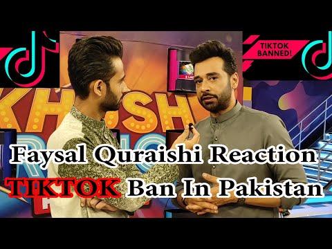 Faysal Quraishi Reaction Tiktok Ban In Pakistan | Tiktok Ban Reactions | Tiktok Ban In Pakistan