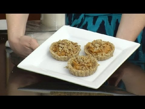 Vegan Whole Wheat, Sweet Potato, Peanut Butter & Oats Pie : Vegan Desserts