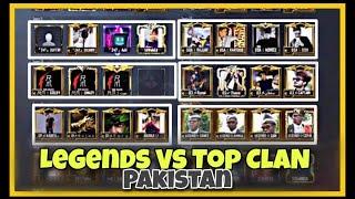 LEGENDS Vs Top Clans Of Pakistan | Scrims | Room Match | PUBG MOBILE