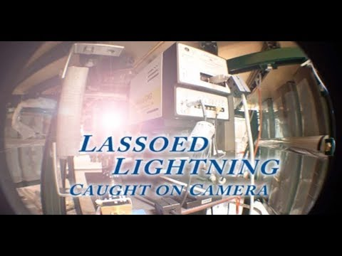 Lassoed Lightning: Clean energy caught on camera