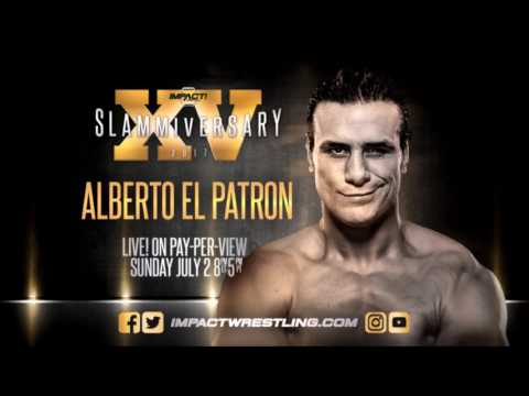 Alberto El Patron 2017 Impact Wrestling Theme (Power Of Mexico)