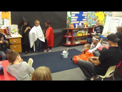Brody's School Play - the Big Pumpkin
