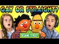 Do Kids Think Bert And Ernie Are Gay? | Kids React