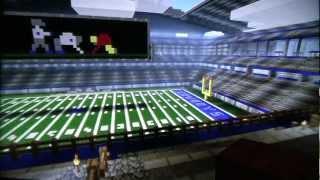 Dallas Cowboys Stadium - Minecraft Xbox 360 Edition