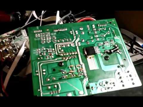 Falla TDA7265 falso !!! En equipo Sanyo DCG 135
