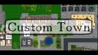 Custom Town -Un Futur Prison Architect?