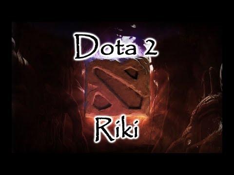 видео: Обучение Гайд Как играть Рики riki в dota 2
