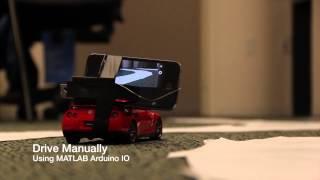 MATLAB Neural Network Autonomous Car
