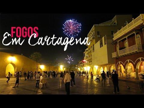 FOGOS EM CARTAGENA | VIAGEM | Romulo e Mirella | T1. Ep. 87