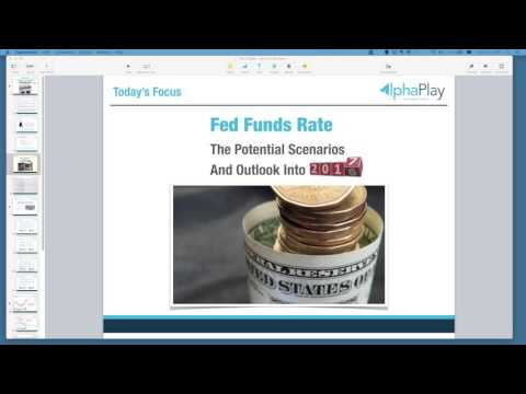 Live Room Webinar: The Finale - Fed Funds Rate [12th December 2016]