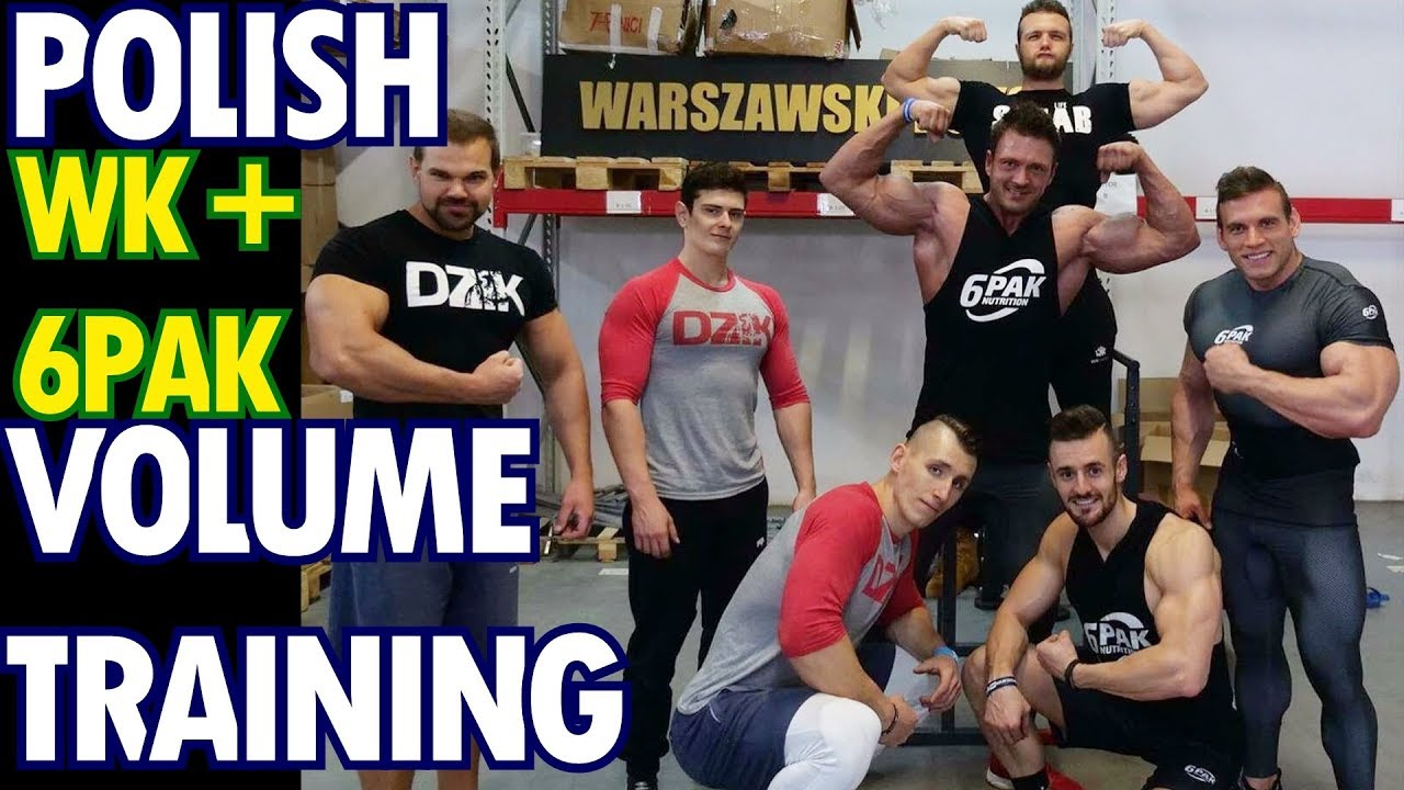 Trening Ekipą + Goście Borecki, Obara, Roch – Polish Volume Training