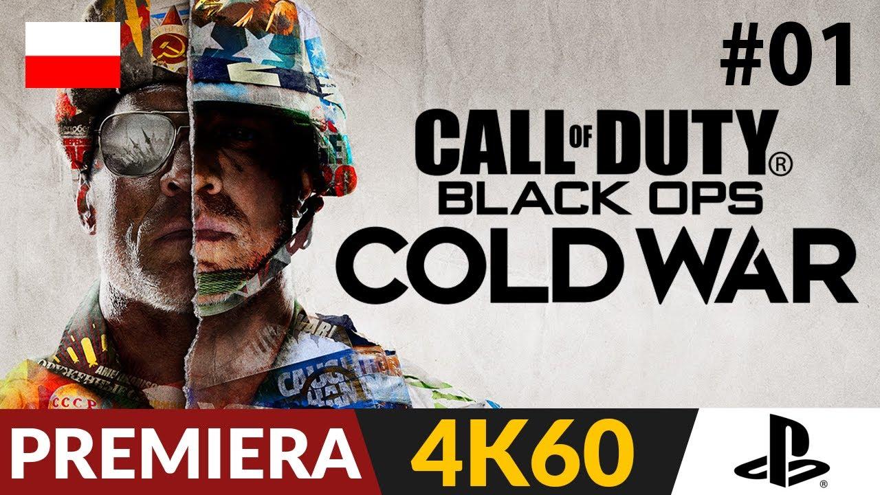 Call of Duty Cold War PL (Black Ops) 🌍 #1 (odc.1) 💥 Znów genialna fabuła? | Gameplay po polsku w 4K
