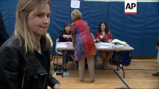 Hillary Clinton Votes in New York Primary