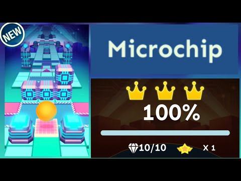 Rolling Sky - Level 40 Microchip [OFFICIAL]