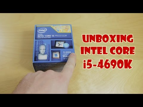 Unboxing Intel Core i5-4690K Processor