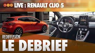 🚗 LIVE・LE DEBRIEF CLIO 5 AVEC FLORIANE
