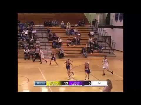 HS GIRLS BB Leo vs Angola 12/7/16