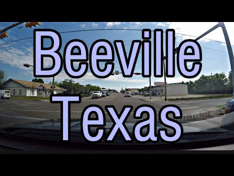 Beeville, TX Population 12,863 - Driving Around Town