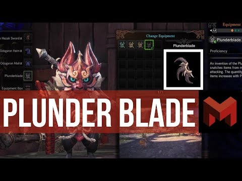 How to get PlunderBlade: The Best Farming tool Monster Hunter World