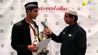 Malik Nafasat Ahmad - Staffellauf - Salana Ijtema 2015 - Majlis Atfal-Ul-Ahmadiyya Deutschland