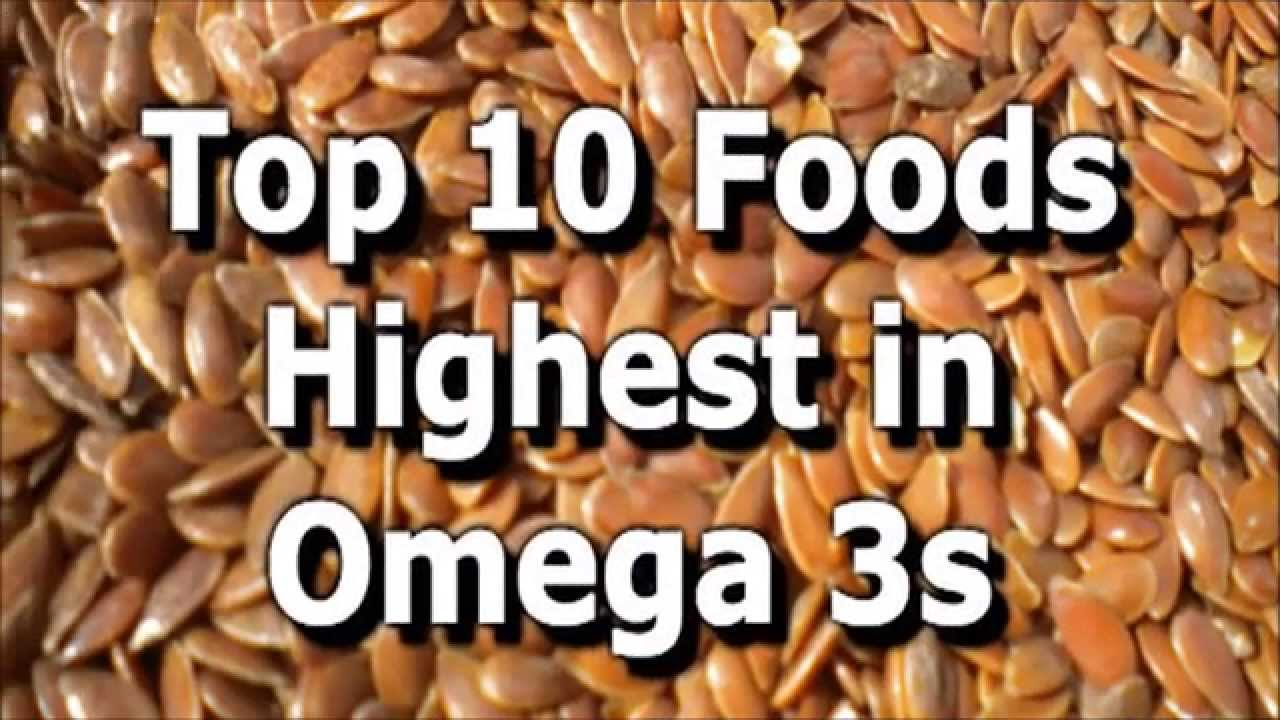 Omega 3 Rich Foods Top 10 Foods High In Omega 3 Fatty