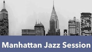 Manhattan jazz in style of Manhattan jazz quartet and Manhattan jaz...