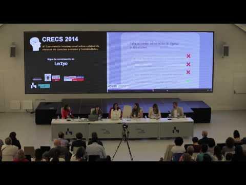 CRECS2014. Comunicaciones. Portales, acceso abierto y políticas de calidad. María Boixadera