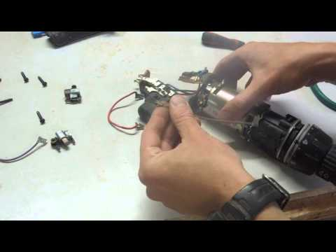 Replacing Carbon Brushes in a Cordless Drill
