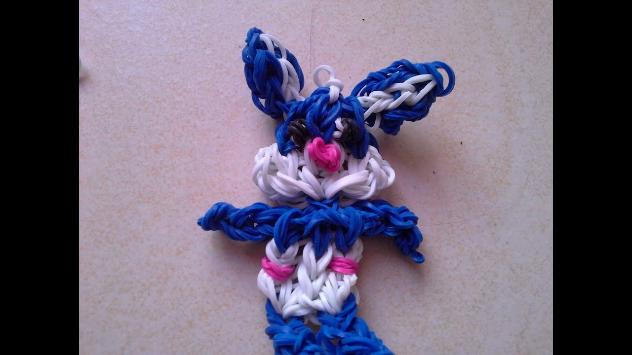 Bekannt Faire un lapin en cra-z-loom ou rainbow loom HD - YouTube CZ72