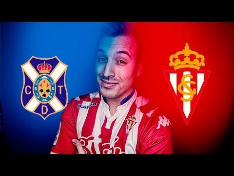 Tenerife vs Sporting de Gijón   Reacción en directo   Jornada 40 Liga 123   18.5.2018