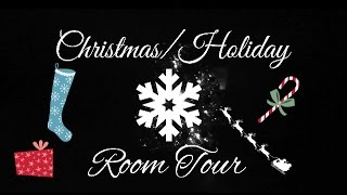 Christmas/Holiday Room Tour ❄️ Thumbnail