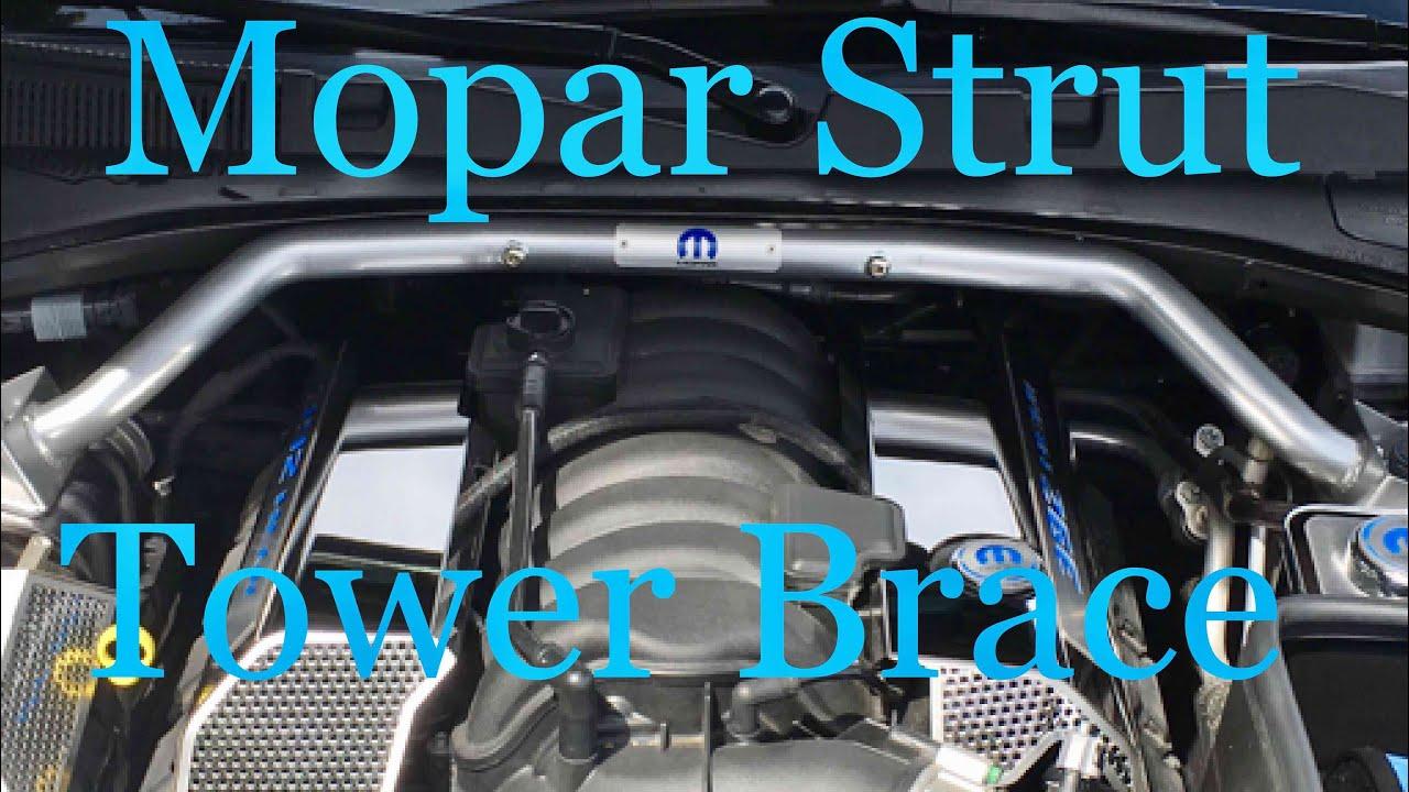 mopar strut tower brace 2016 dodge charger scatpack. Black Bedroom Furniture Sets. Home Design Ideas