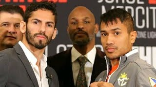 LINARES VS GESTA FACE OFF 1/25/18! FIGHT WEEK! JORGE LINARES VS MERCITO GESTA PREVIEW HBO 1/27/18