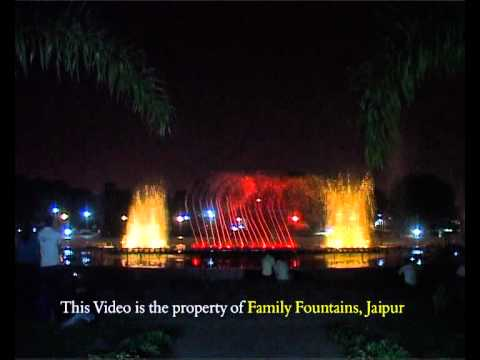 Musical Fountains Jaipur India.wmv