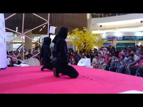 Kota Kasablanka Jakarta travel fair 2017 edowonderland ninja show 8/25