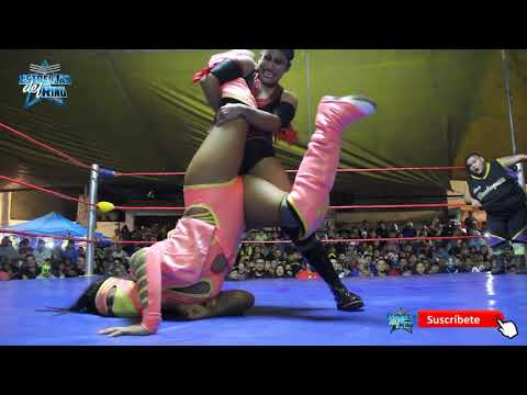 Lady Shani y Niño Hamburguesa vs Faby Apache y Raptor con Promociones Rosales.