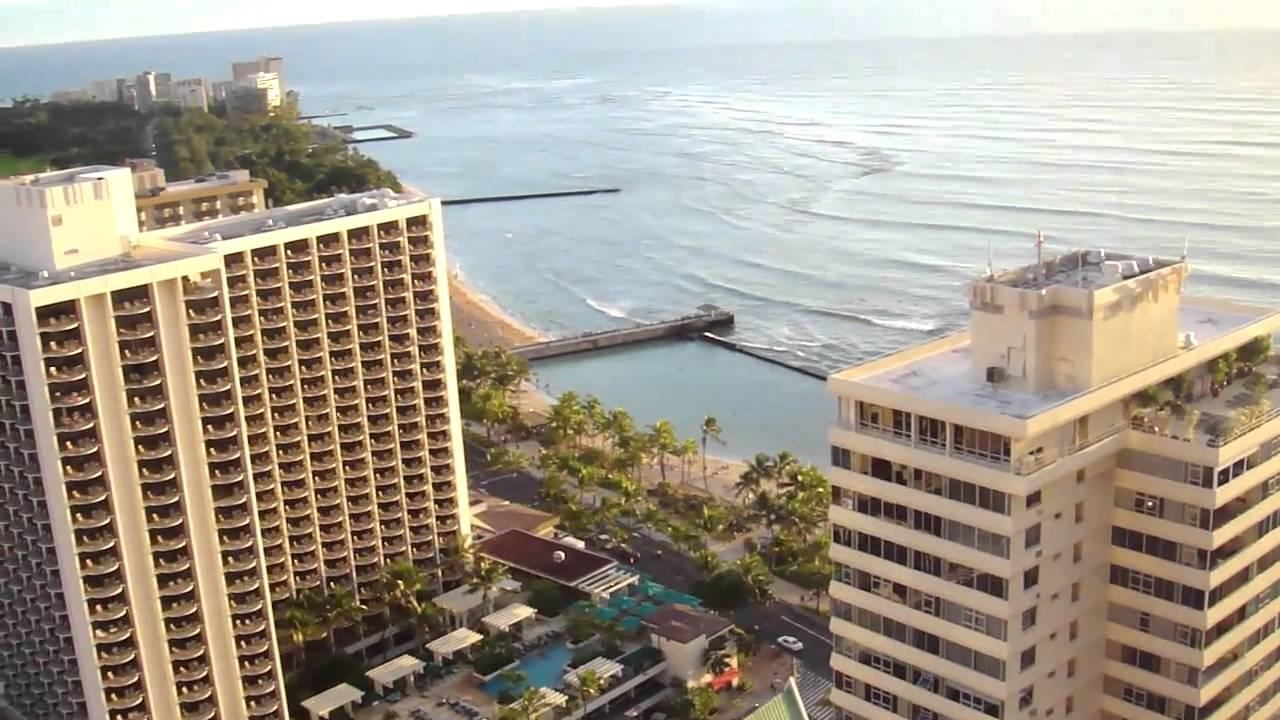 Nice View From Pacific Beach Hotel Honolulu Hawaii You